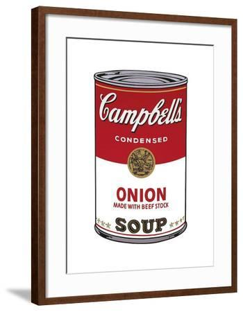 Campbell's Soup I: Onion, c.1968-Andy Warhol-Framed Giclee Print