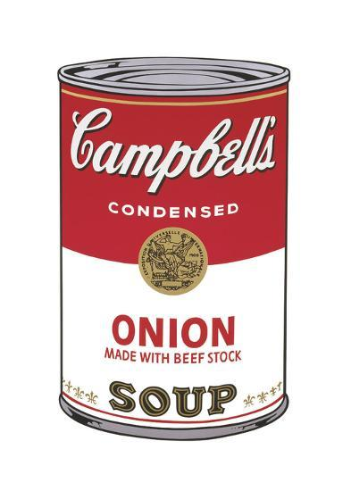 Campbell's Soup I: Onion, c.1968-Andy Warhol-Giclee Print