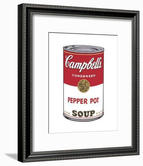 Campbell's Soup I: Pepper Pot, 1968-Andy Warhol-Framed Art Print