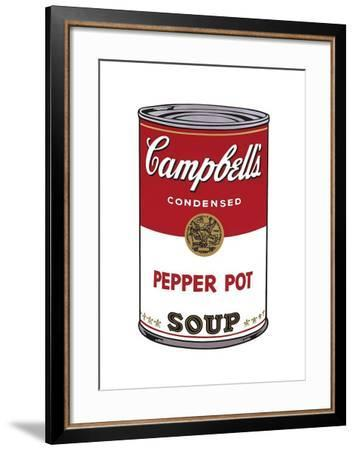 Campbell's Soup I: Pepper Pot, c.1968-Andy Warhol-Framed Giclee Print