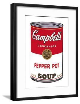 Campbell's Soup I: Pepper Pot, c.1968-Andy Warhol-Framed Art Print