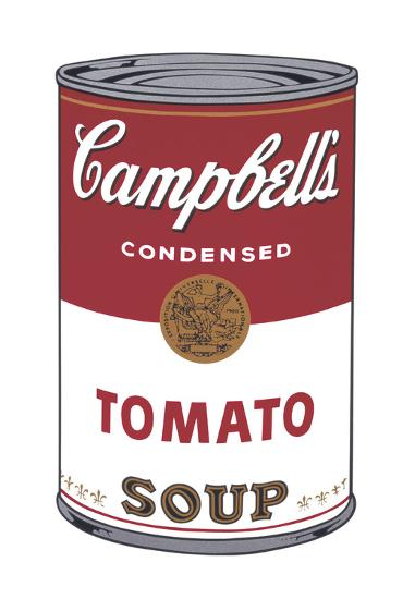 Campbell's Soup I: Tomato, 1968-Andy Warhol-Art Print