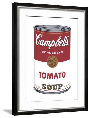Campbell's Soup I: Tomato, 1968-Andy Warhol-Framed Art Print