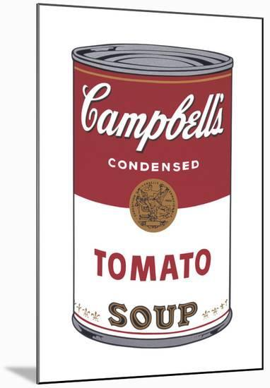 Campbell's Soup I: Tomato, 1968-Andy Warhol-Mounted Art Print