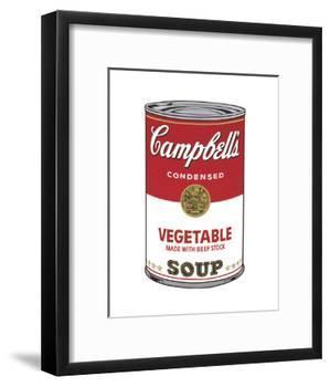 Campbell's Soup I: Vegetable, 1968-Andy Warhol-Framed Art Print