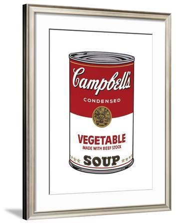 Campbell's Soup I: Vegetable, c.1968-Andy Warhol-Framed Giclee Print