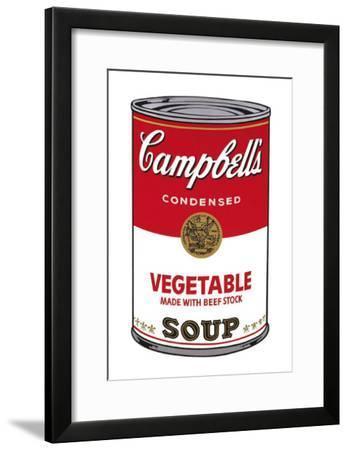 Campbell's Soup I: Vegetable, c.1968-Andy Warhol-Framed Art Print