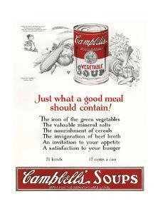 Campbells Soup Ad