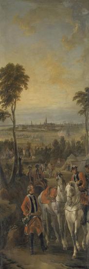 Campement de mousquetaires en vue du siège de la ville et de la citadelle d'Anvers le 1er juin 1746-Pierre Lenfant-Giclee Print