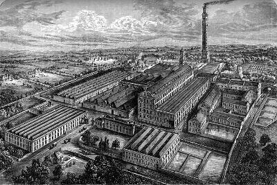 Camperdown Linen Works, Dundee, C1880--Giclee Print