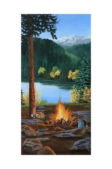 Campfire-Julie Peterson-Art Print
