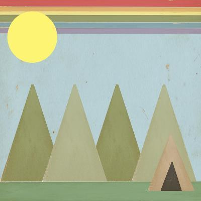 Camping in the Woods-Tammy Kushnir-Giclee Print