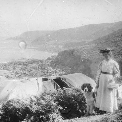 Camping, Late 19th or Early 20th Century--Photographic Print