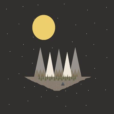 Camping on the Edge of the World-Tammy Kushnir-Giclee Print