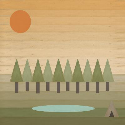 Camping Out-Tammy Kushnir-Giclee Print