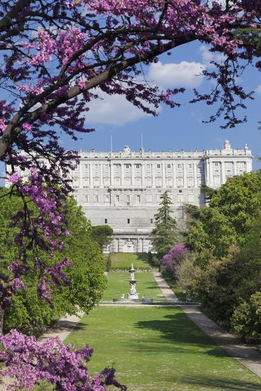 Campo del Moro Park, Royal Palace (Palacio Real), Madrid, Spain, Europe-Markus Lange-Photographic Print