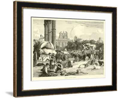 Campo Vaccino, Rome--Framed Giclee Print