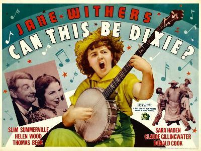Can This Be Dixie?, Slim Summerville, 1936--Art Print