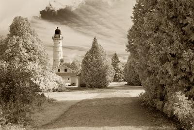 Cana Island Lighthouse, Door County, Wisconsin '12-Monte Nagler-Photographic Print