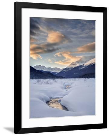 Canada, Alberta, Banff National Park, sunset at Graveyard Flats-Ann Collins-Framed Photographic Print