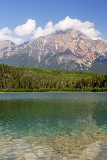 Canada, Alberta, Jasper NP, Pyramid Mountain and Patricia Lake-Jamie & Judy Wild-Photographic Print
