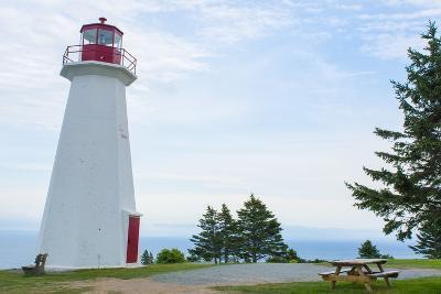 Canada, Cape George, Nova Scotia, Antigonish, Cape George Lighthouse-Bill Bachmann-Photographic Print