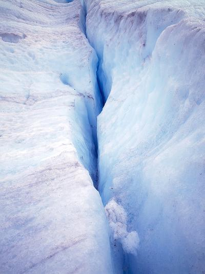 Canada Columbia Ice Fields Crevasse in Glacier-John Ford-Photographic Print