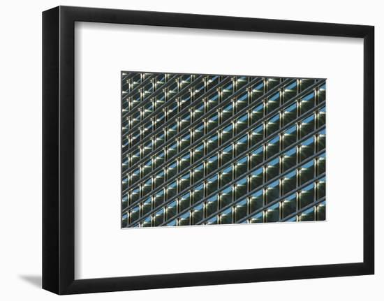 Canada, Manitoba, Winnipeg. Building abstract.-Jaynes Gallery-Framed Photographic Print