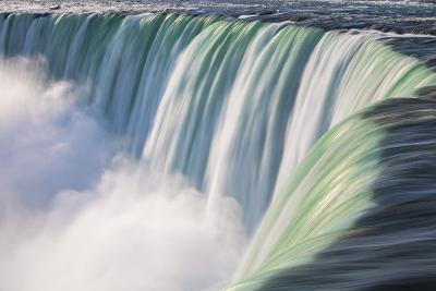 Canada, Ontario, Niagara, Niagara Falls, View of Table Rock Visitor Center and Horseshoe Falls-Jane Sweeney-Photographic Print