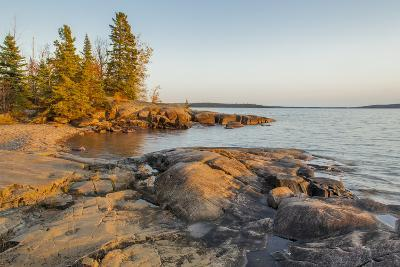 Canada, Ontario, Terrace Bay, Rainbow Falls Provincial Park-Frank Zurey-Photographic Print