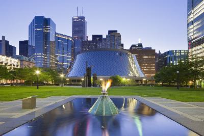 Canada, Ontario, Toronto, Centre, Roy Thompson Hall-Rainer Mirau-Photographic Print