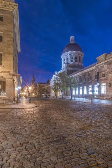 Canada, Quebec, Montreal, Old Montreal at Dawn-Rob Tilley-Photographic Print