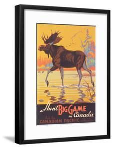Canada Travel Poster, Moose