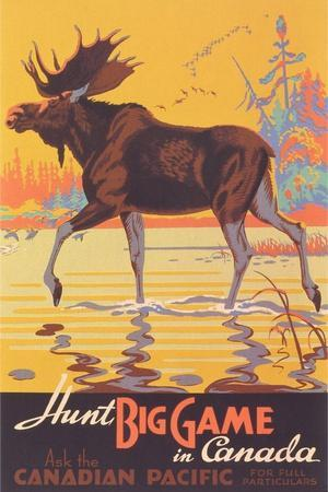 1947 Travel Canadian Pacific Across Canada Vintage Style Travel Poster 24x32