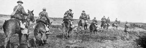 Canadian Cavalry, Vimy, France, First World War, April 1917