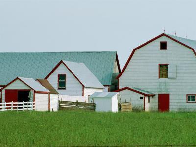 Canadian Farm-James P^ Blair-Photographic Print