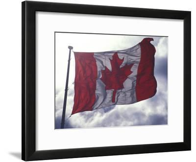 Canadian Flag-Nick Norman-Framed Photographic Print