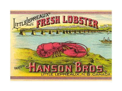 Canadian Fresh Lobster--Art Print