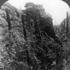 Canadian Infantry in the Trenches, World War I, 1914-1918
