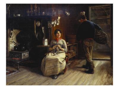 Canadian Kitchen-Frederick James-Giclee Print