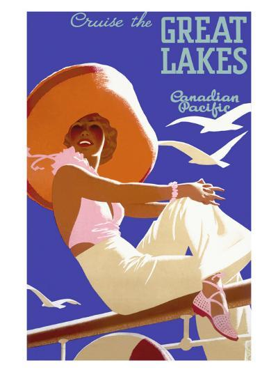 Canadian Pacific Great Lakes Cruise--Giclee Print