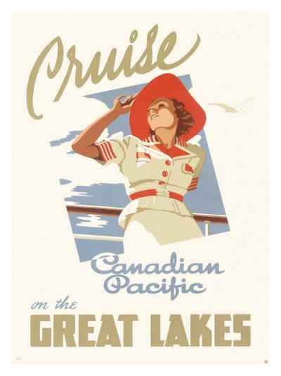 Canadian Pacific Oceanline Lakes--Giclee Print