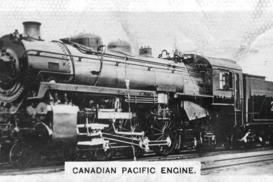 Canadian Pacific passenger engine, Canada, c1920s. Artist: Unknown-Unknown-Photographic Print