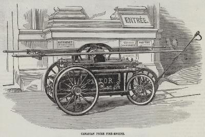 Canadian Prize Fire-Engine--Giclee Print