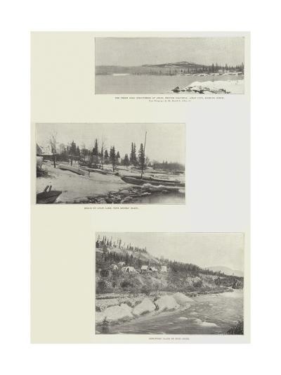 Canadian Scenes--Giclee Print