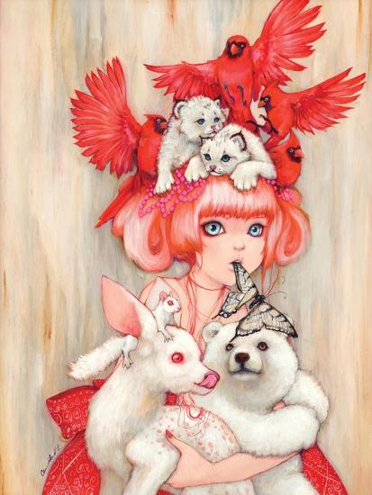 Canadian Tiger-Camilla D'Errico-Art Print