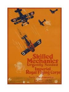 Canadian World War One Recruiting Poster