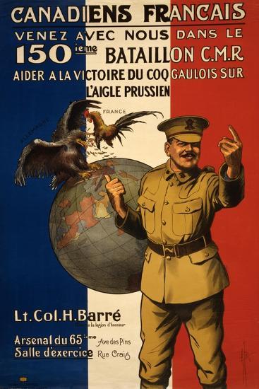 Canadiens Francais--Giclee Print