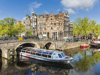 Canal, Amsterdam, Holland, Netherlands-Peter Adams-Photographic Print