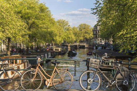 Canal, Amsterdam, Holland, Netherlands-Peter Adams-Photographic Print